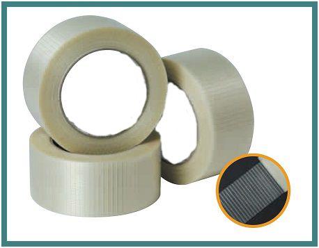 Cross Filament Tape Rayan Plast Bopp Self Adhesive Tapes